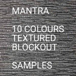 Mantra BO Roller Blind Samples