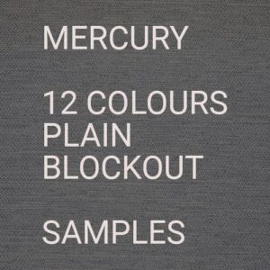 Mercury II BO Roman Blind Samples