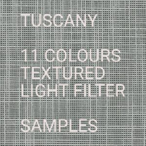 Tuscany II LF Roller Blind Samples