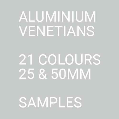 Aluminium Venetians