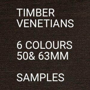 Real Timber Venetians