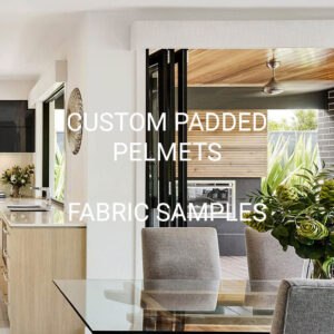 Custom Padded Pelmets Fabric Samples
