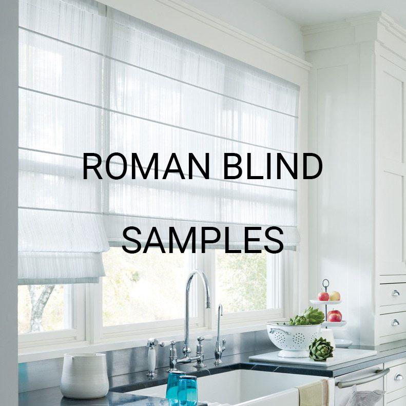 Roman Blinds Samples