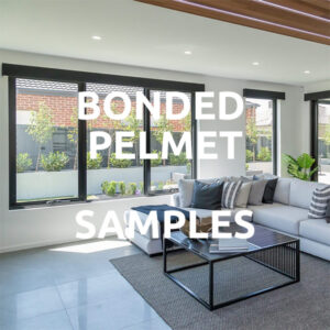 Bonded Pelmet Samples