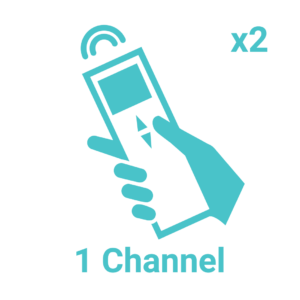 1 Channel x2